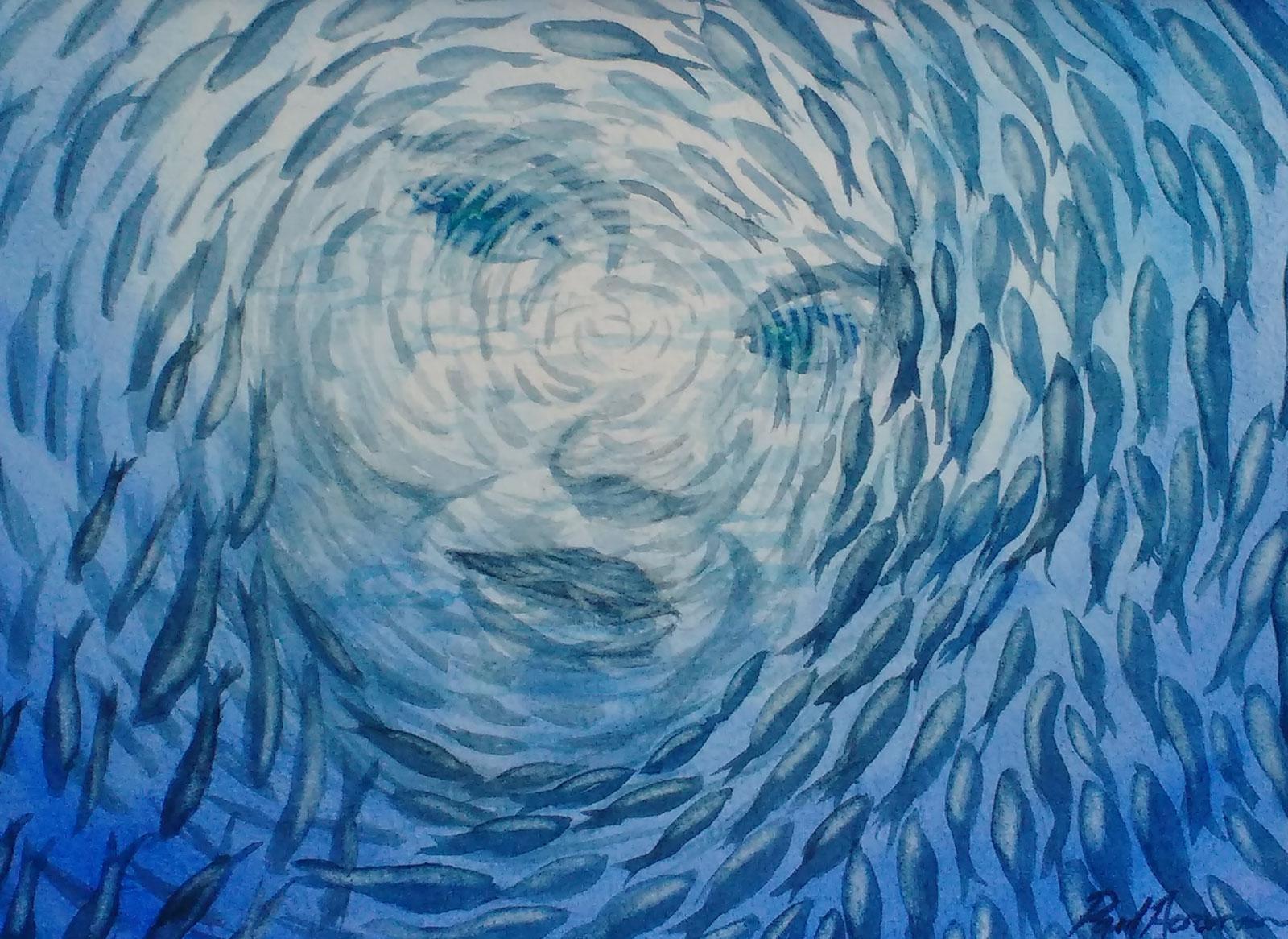 Paul Acraman-fantasy-sea-painting-girl-Ocean Dream Girl 2